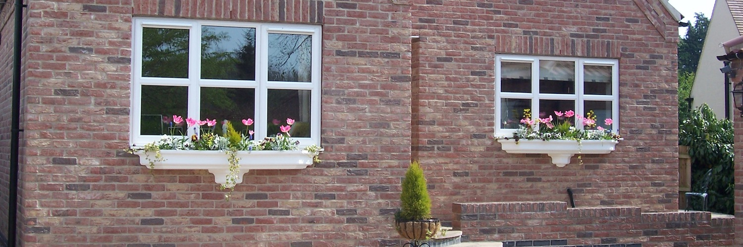 We Make Beautiful Fibreglass Window Planters For Your Home
