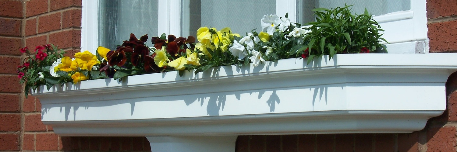 Fibreglass Window Planter